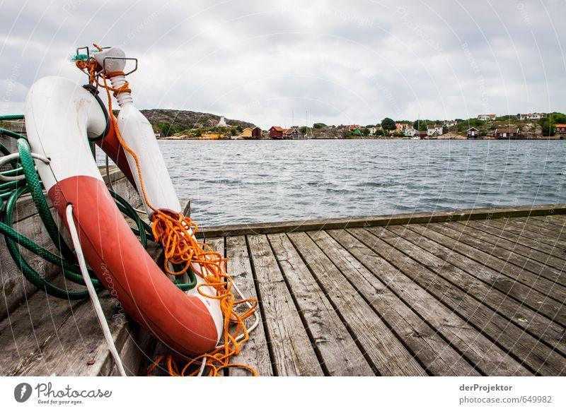Ich bin bereit! Natur weiß Sommer rot Wolken Umwelt Gefühle Küste Holz orange Wellen Verkehr Erfolg Seil Urelemente Dorf