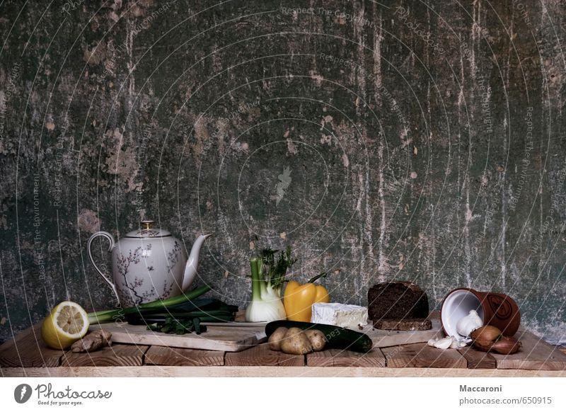 Schön gesund Erholung Essen Speise Lebensmittel Frucht Foodfotografie genießen Ernährung Gemüse Tee Bioprodukte Frühstück Stillleben Reichtum Brot Abendessen