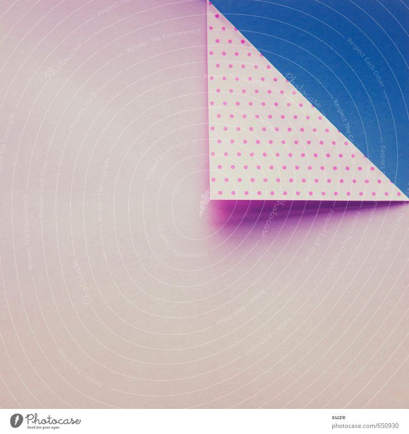 Mustafa03 blau schön Stil Hintergrundbild Kunst Lifestyle rosa Design Freizeit & Hobby Textfreiraum Kreativität Ecke Idee retro einzigartig Papier