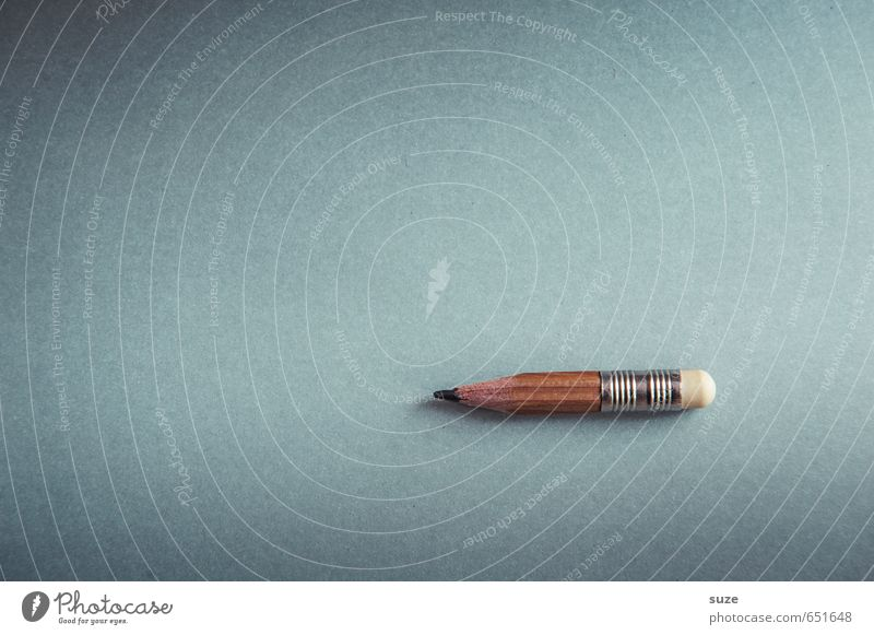 Bleier lustig grau klein braun Arbeit & Erwerbstätigkeit Schule Business Büro Spitze Studium einfach Kreativität Papier Grafik u. Illustration Idee schreiben