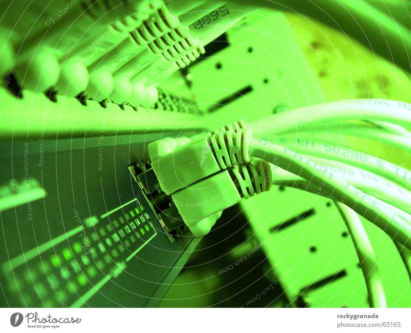 Die Butze Netzwerk Kabel Leitung Matrix