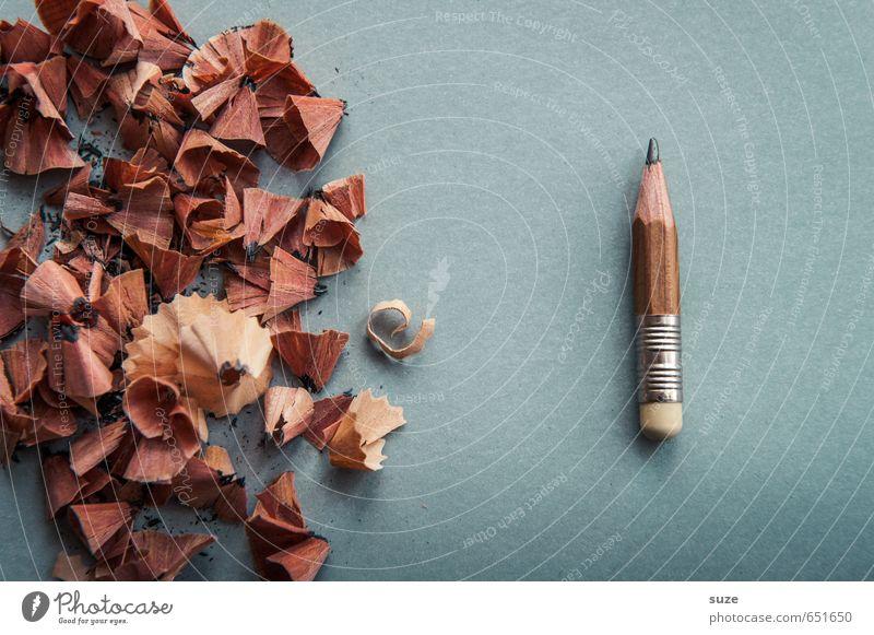 Wo gehobelt wird, ... lustig grau klein braun Schule Arbeit & Erwerbstätigkeit Business Büro Erfolg Spitze Studium einfach Kreativität Grafik u. Illustration