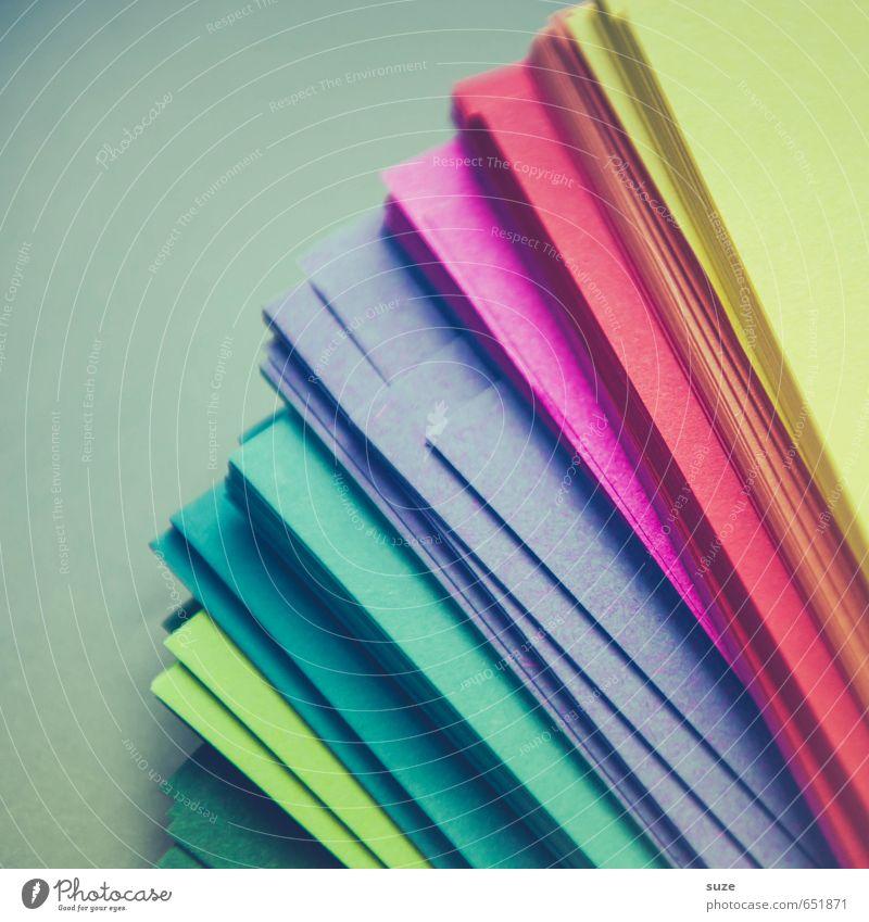Wer die Wahl hat ... blau grün rot gelb Spielen Stil Freizeit & Hobby Business Büro Design Dekoration & Verzierung einfach Kreativität Papier Idee einzigartig