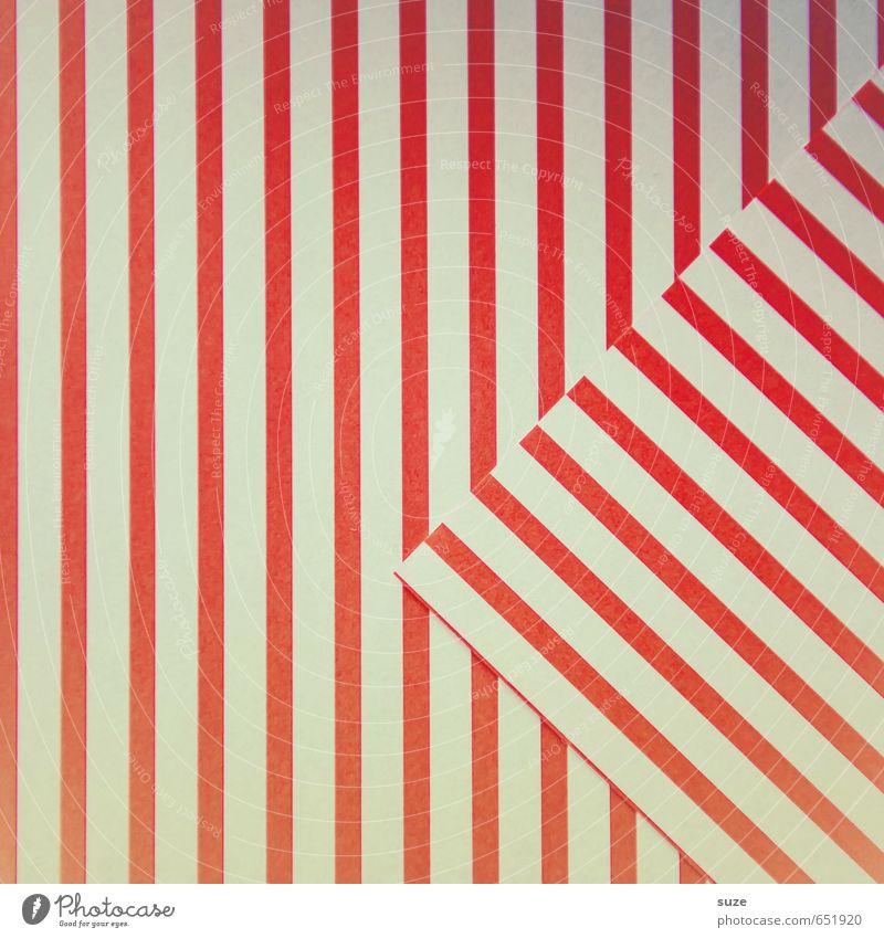 Mustafa04 weiß rot Stil Hintergrundbild Kunst Feste & Feiern Lifestyle Design Freizeit & Hobby Geburtstag Kreativität Ecke Idee einfach retro Papier