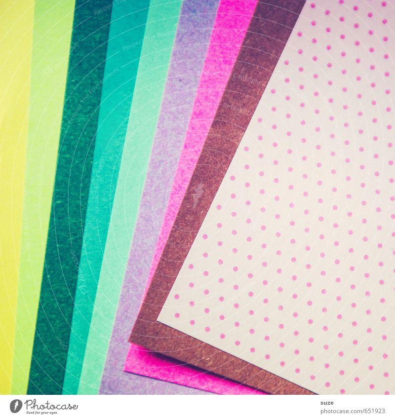Mustafa08 Stil Kunst Feste & Feiern Lifestyle rosa Design Freizeit & Hobby Geburtstag Kreativität Ecke Idee niedlich Papier Streifen Grafik u. Illustration