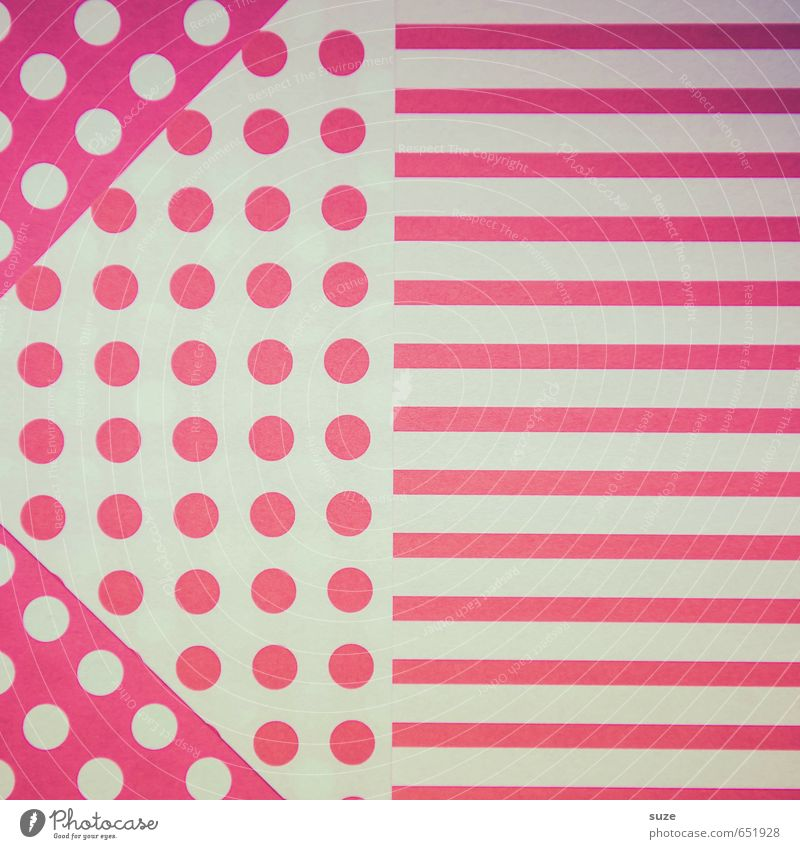 Mustafa09 Lifestyle Stil Design Basteln Kunst Schreibwaren Papier Verpackung Streifen Freundlichkeit einzigartig Kitsch niedlich retro rot weiß Idee Kreativität