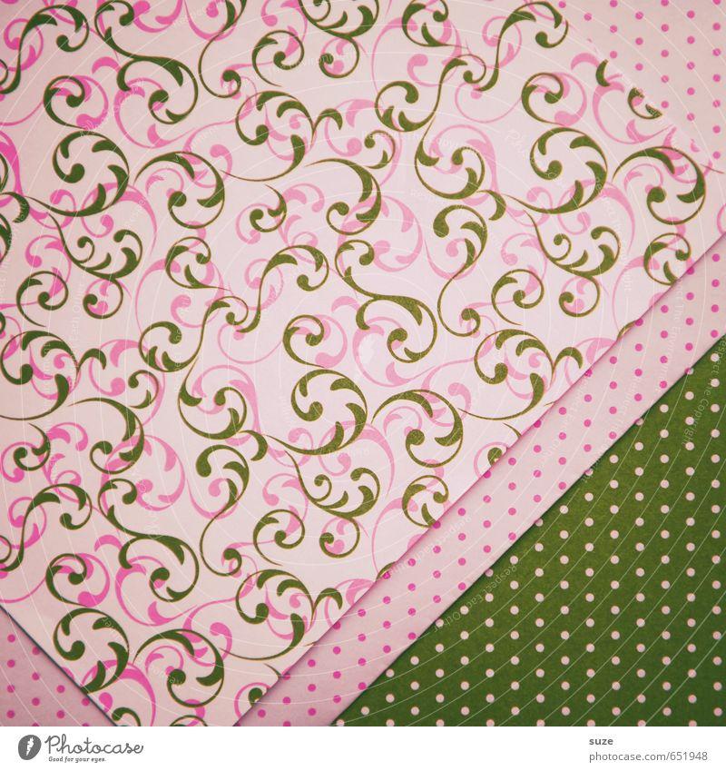 Mustafa13 Lifestyle Stil Design Basteln Feste & Feiern Geburtstag Kunst Papier Verpackung Ornament Freundlichkeit retro rosa Idee Kreativität Liebe Punkt Falte