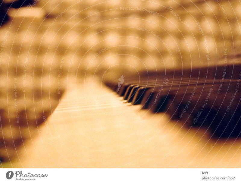 Keyboard Unschärfe Werkstatt Fototechnik berühren Klavier Musikinstrument