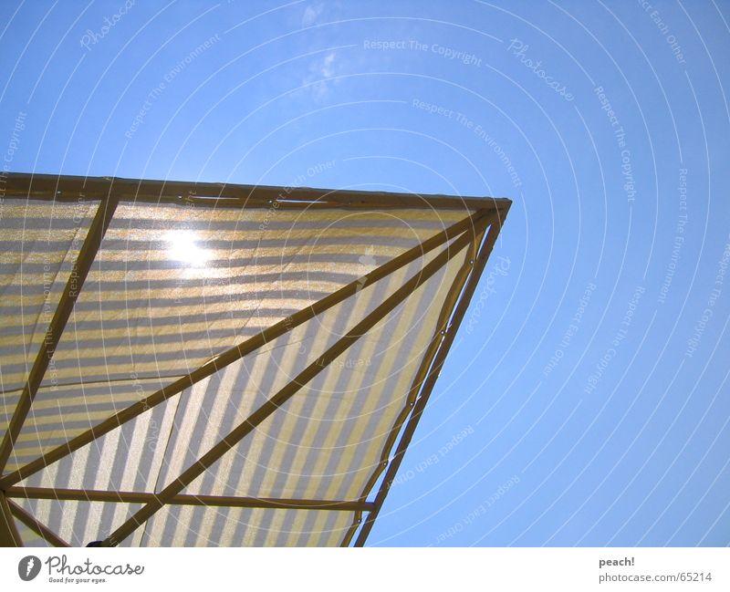 summer feelin' Himmel Sonne Sommer Strand Ferien & Urlaub & Reisen Sonnenschirm Schönes Wetter Türkei