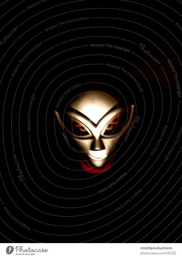 Alien Mask II Fototechnik Außerirdischer SPACE CARNIVAL