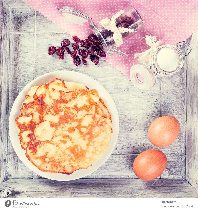 Sunday Morning II Ferien & Urlaub & Reisen Essen grau Lebensmittel braun rosa Wohnung Zufriedenheit Häusliches Leben ästhetisch Ernährung genießen Lebensfreude