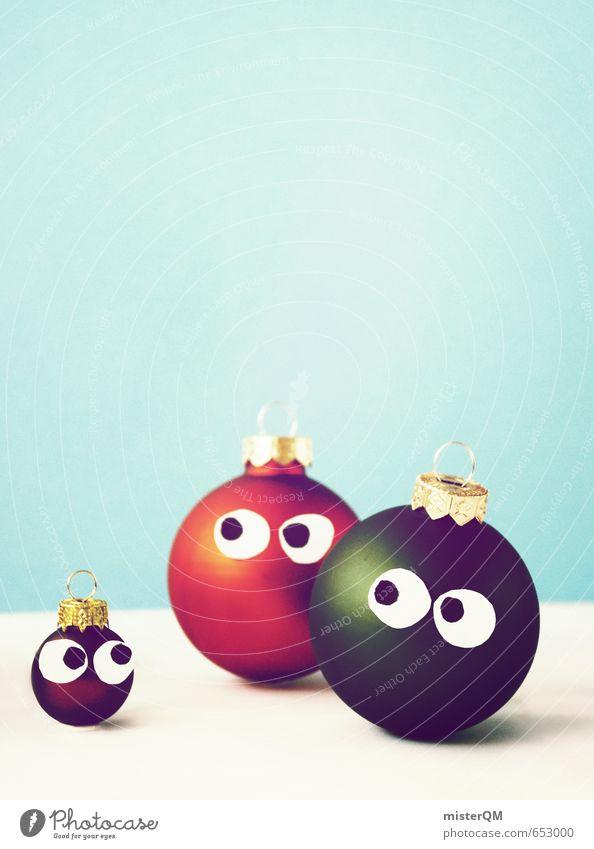 When We Were Young. Kunst ästhetisch Zufriedenheit Wegsehen Auge Augenzeuge Weihnachten & Advent Christbaumkugel Baumschmuck 3 Familie & Verwandtschaft schön