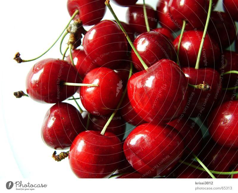 cherry cherry lady II Natur grün weiß Baum rot Pflanze Sommer Ernährung Umwelt Lebensmittel Frucht Herz süß Wut Ernte Kirsche