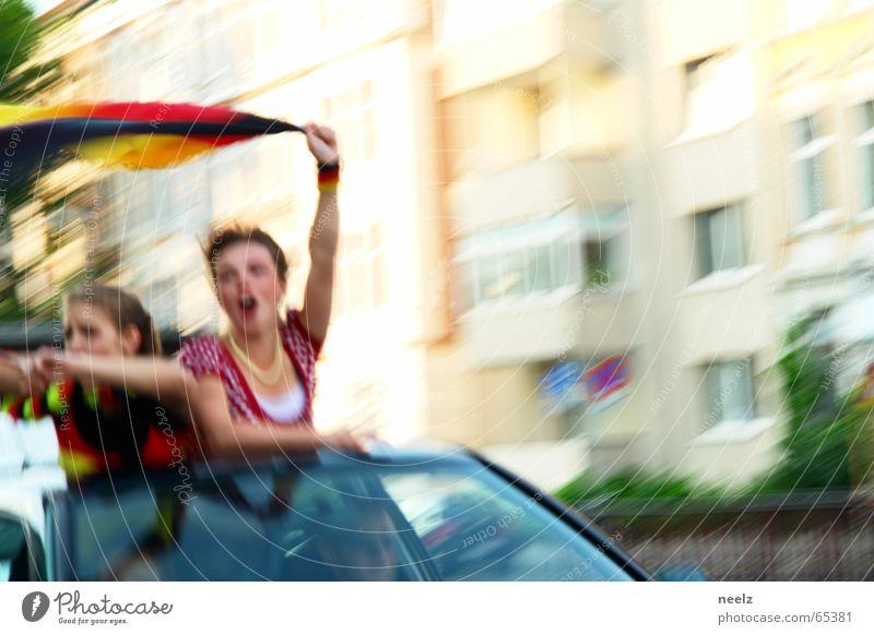 Dritter Weltmeisterschaft Deutschland Fahne Fan Applaus WM 2006