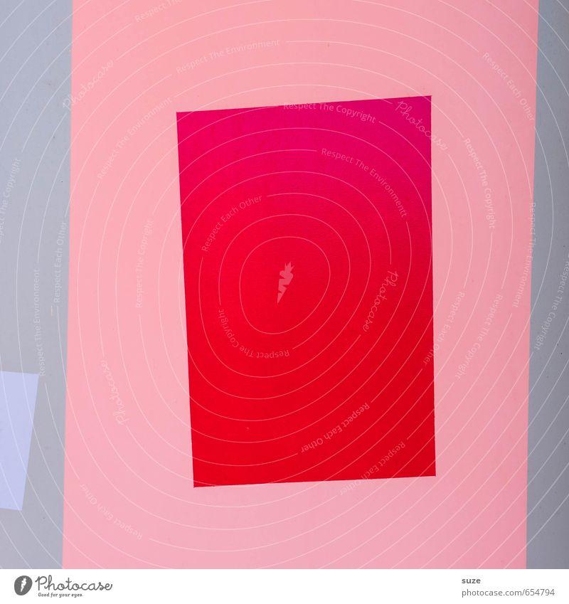 Graphic 1.7 Lifestyle Stil Design Kunst Mauer Wand Fassade Linie Streifen eckig einfach modern rosa rot Kreativität Ordnung Präzision Grafik u. Illustration