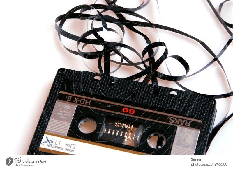Bandsalat Tonträger Magnet Musikkassette Hörspiel hören kasette casette 60min magnetband kasettenrekorder Ende Tod
