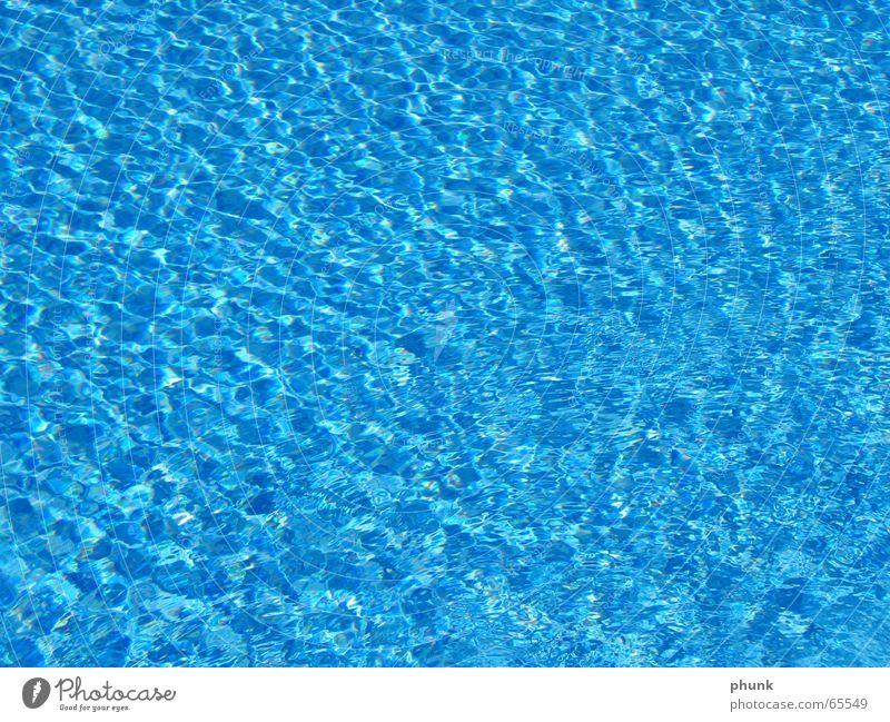 wasser. kreativtitel Schwimmbad nass kalt kühlen Wasser blau