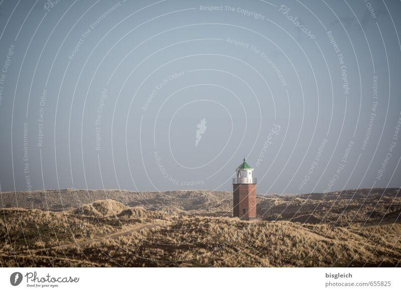 Sylt I Ferien & Urlaub & Reisen Tourismus Sommer Sommerurlaub Meer Insel Umwelt Natur Landschaft Himmel Nordsee Deutschland Europa Leuchtturm Schifffahrt blau