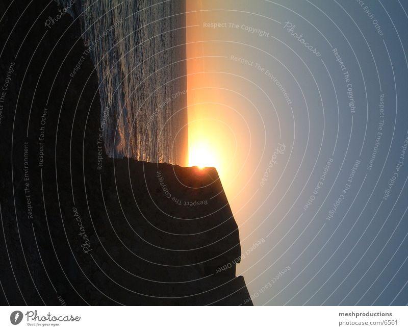 Por do sol Sonnenuntergang Cascais Guincho