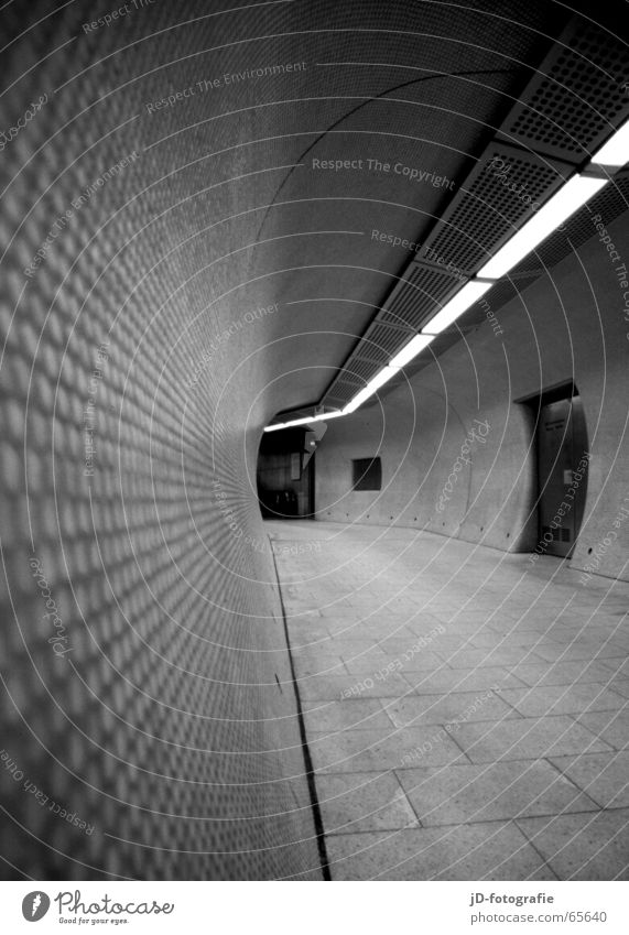 Tube_#01 Linie Tunnel U-Bahn Untergrund