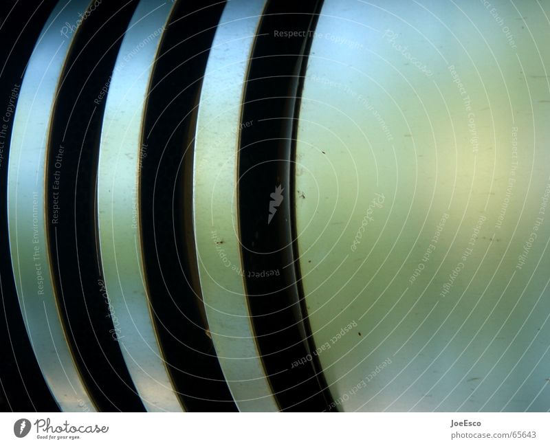 stylishe abluft 2 ruhig schwarz Stil Raum Metall glänzend rund einfach rein Klarheit Stahl Röhren Furche Bogen sehr wenige