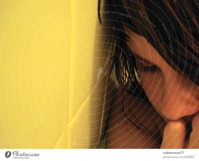 Angst Mädchen Einsamkeit Traurigkeit Trauer