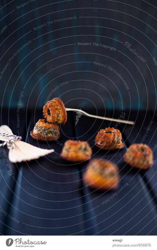 poppy seed Teigwaren Backwaren Kuchen Dessert Süßwaren Ernährung Fingerfood lecker süß Gugelhupf Farbfoto Innenaufnahme Studioaufnahme Textfreiraum oben