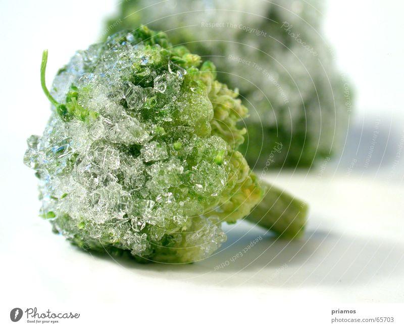Ice Age Brokkoli grün Eis kalt Schnellzug Gemüse Ernährung vegetable cold