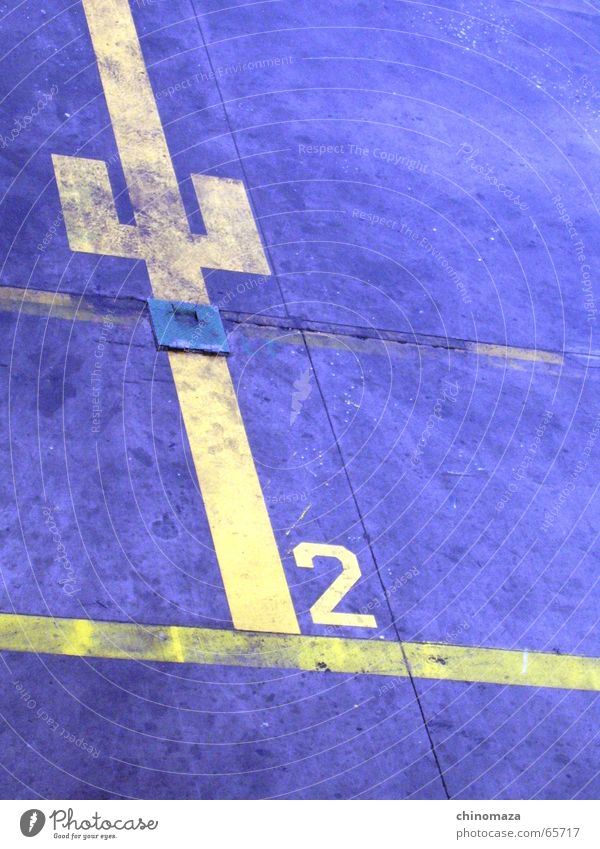 Aircraf Position gelb Tanzfläche