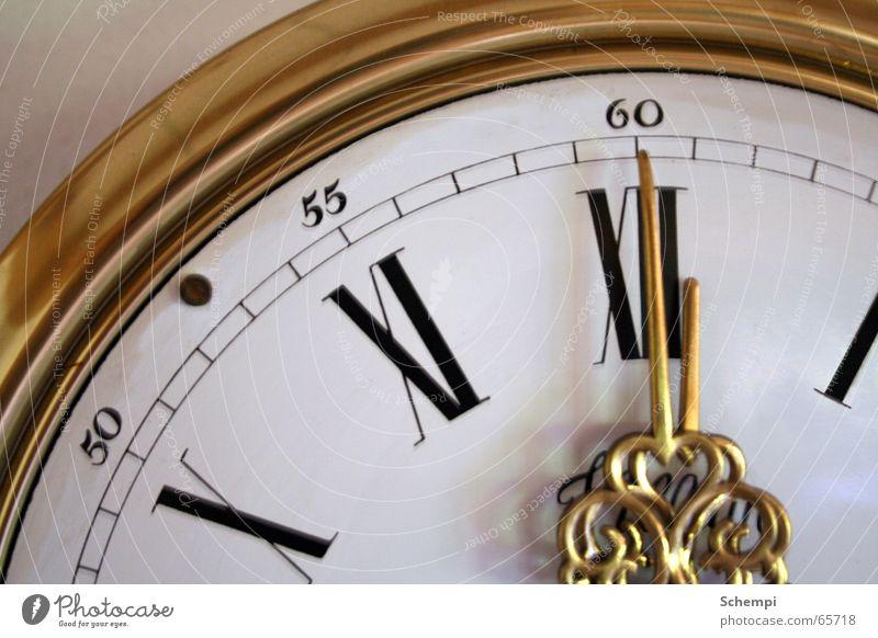 Tic Toc Zeit Uhr Stress ruhig klassisch gold Uhrenzeiger Eile