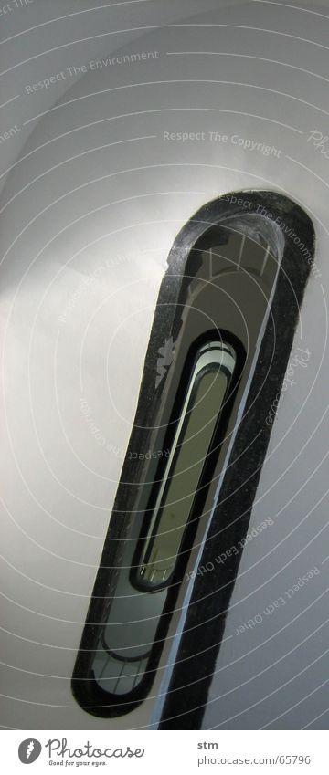 stille 1 weiß schwarz Linie Kreis Treppe Geometrie Spirale