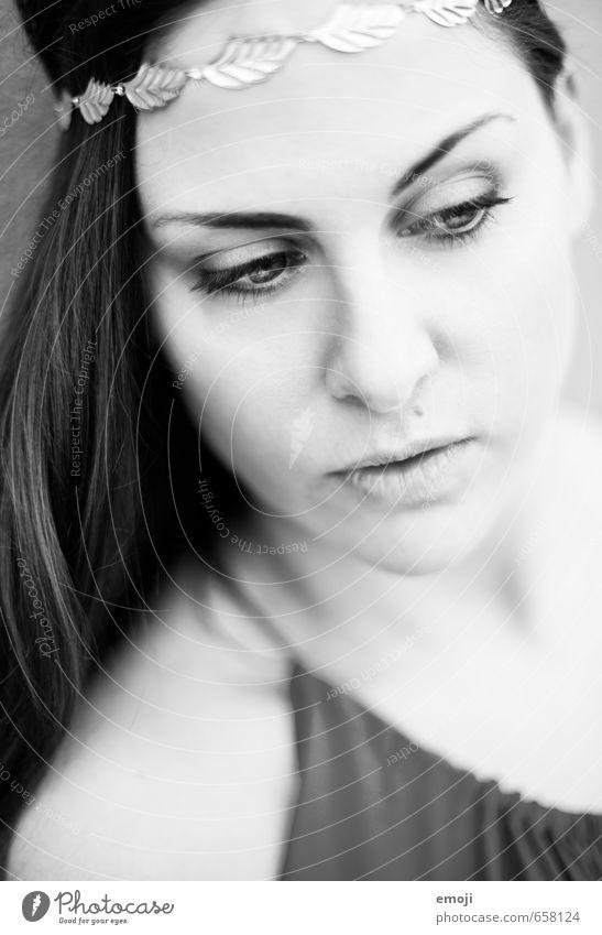 soft Mensch Jugendliche schön Junge Frau 18-30 Jahre Gesicht Erwachsene feminin