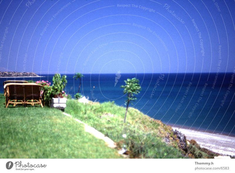 Nirgendwo in Griechenland Meer Europa Hügel Blauer Himmel