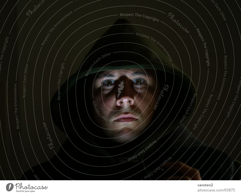Darkside of Live Beleuchtung Angst Spiegel Selbstportrait