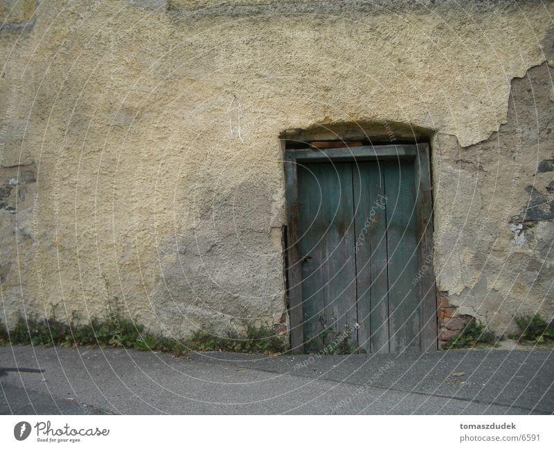 old door alt Wand Architektur Tür