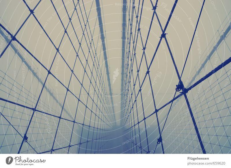 www.brooklyn-usa.org Ferien & Urlaub & Reisen Ferne Freiheit Tourismus Ausflug Brücke Abenteuer Stahlkabel Skyline Wahrzeichen Amerika Sehenswürdigkeit