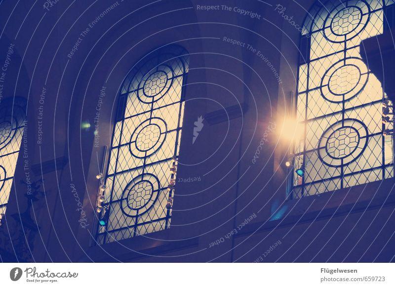 Let Your Light Shine Städtereise Stadt überbevölkert Bauwerk Gebäude Architektur Sehenswürdigkeit Denkmal leuchten Religion & Glaube Kirche Kirchenfenster