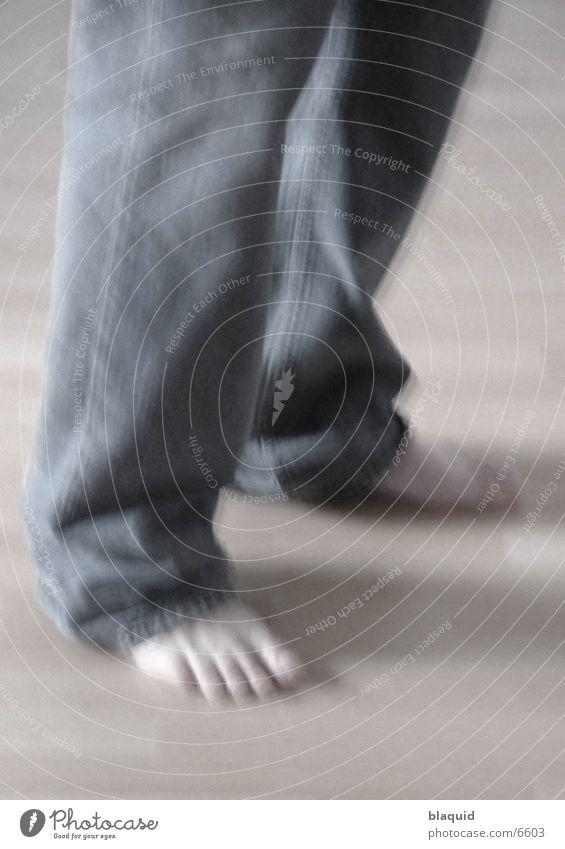 Füsse Fuß Hose Fototechnik