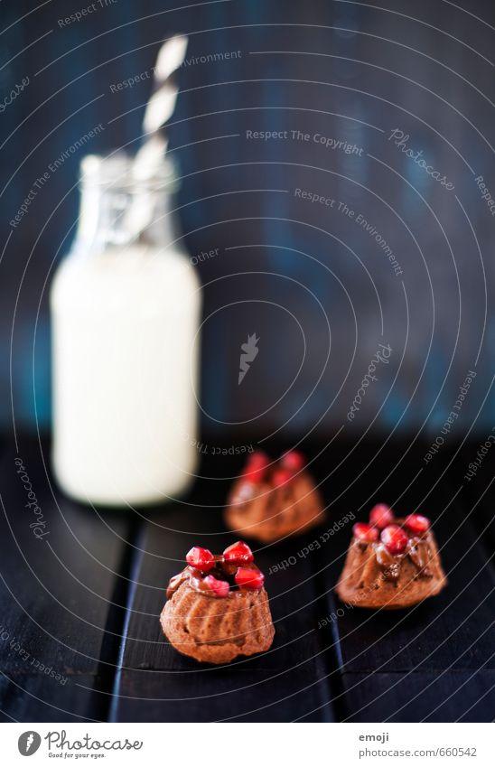Granatapfel klein Ernährung süß Süßwaren lecker Kuchen Backwaren Dessert Milch Milcherzeugnisse Gugelhupf Kalorienreich