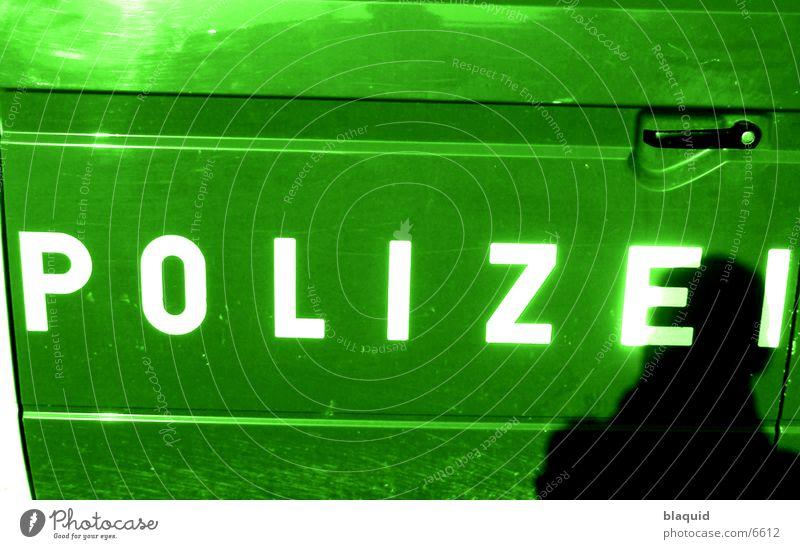 Polizei Fototechnik Schatten
