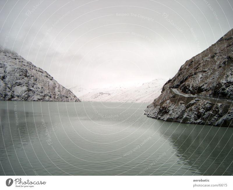 stausee Wasser Berge u. Gebirge Stausee