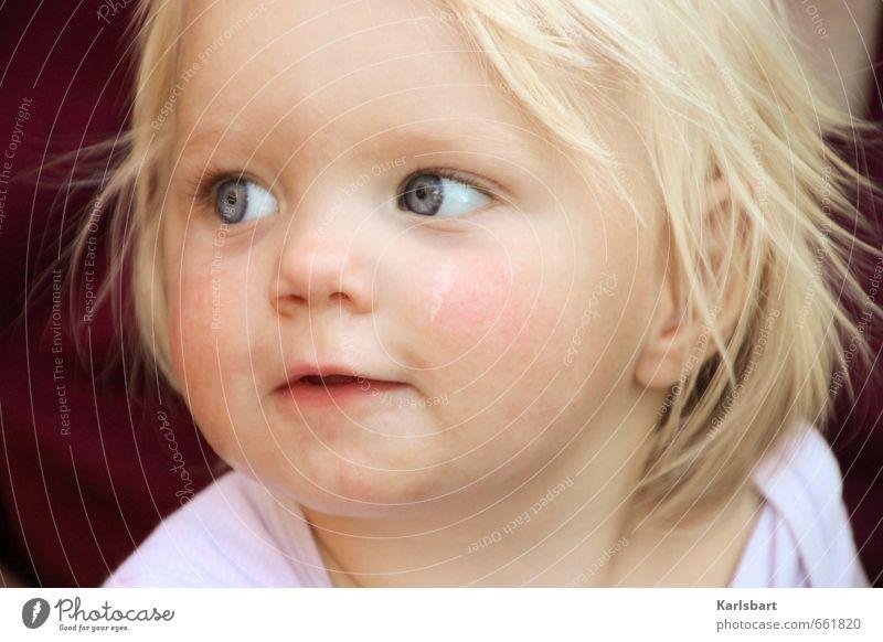 Frohträumchen Gesundheit Muttertag Kindererziehung Bildung Kindergarten lernen Mensch Kleinkind Mädchen Kindheit Gesicht 1 1-3 Jahre Natur blond Gefühle