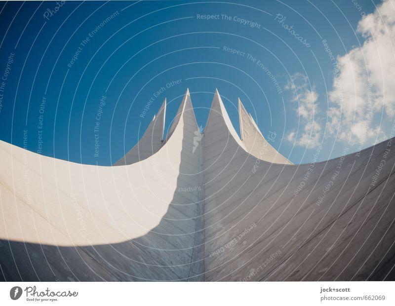 Edition 900 Himmel Wolken außergewöhnlich Kraft Design modern ästhetisch Beton fantastisch Dach Freundlichkeit Show Veranstaltung lang Futurismus Plattenbau