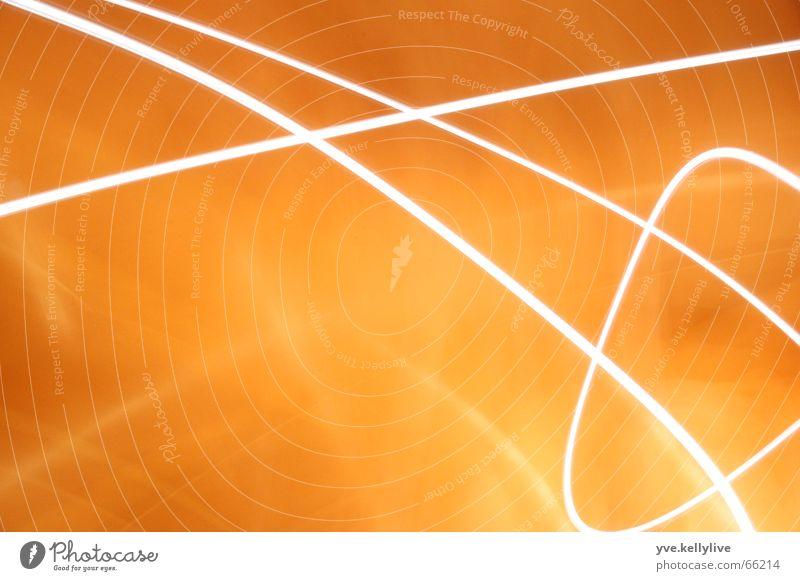 Lichtspiele 1 Langzeitbelichtung Streifen orange 2 lichter lights longterm