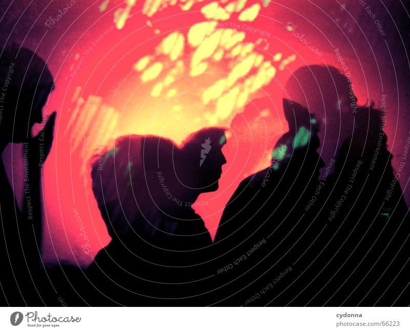 ich tanze heut nacht ... Disco Party Veranstaltung singen Licht Mensch fremd Club Konzert Musik Reflexion & Spiegelung Freude Tanzen zusammenkommen melt