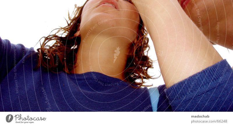 RECHTS - DAT BIN ICKE Mann Frau Konzentration Mensch zwei menschen Blick Arme Gesicht Elektrizität fummler tüfftler kaputt? zeig ma blau madochab