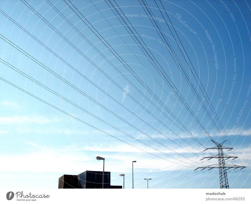 STREBEN NACH FREIHEIT Elektrizität Strommast