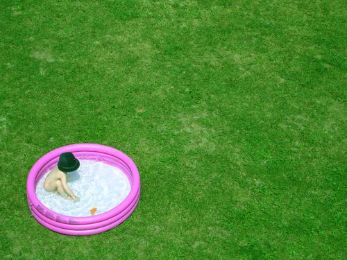 alle meine entchen Ferien & Urlaub & Reisen Freizeit & Hobby Physik Erfrischung Kind Spielen UFO Rasen plantschbecken Wärme Garten poolparty Feste & Feiern