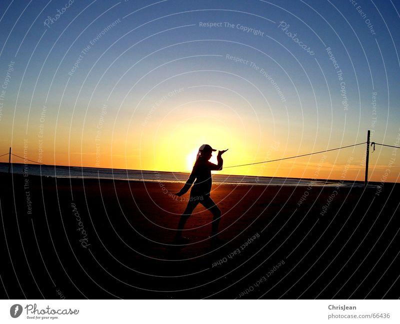 Egypt girl Wasser Sonne Meer Strand ruhig Lampe Erholung Haare & Frisuren Sand Seil Wellness Insel Vergangenheit Stab Borkum Baseballmütze