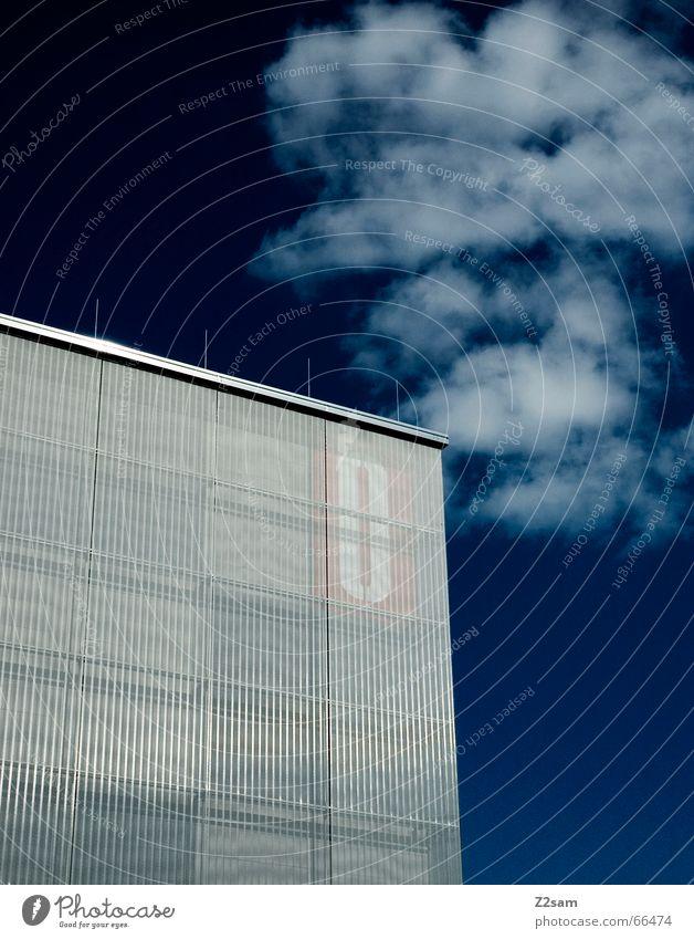 zero Haus Wolken leer Gebäude Himmel blue Architektur